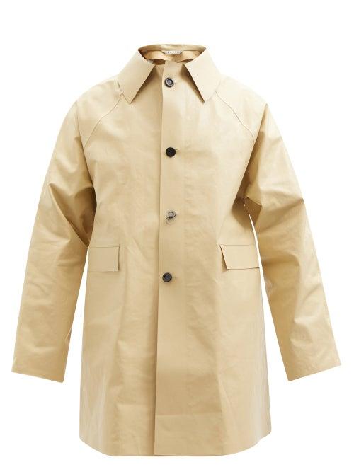 Kassl Editions - Original Oil Cotton-blend Coat - Mens - Beige