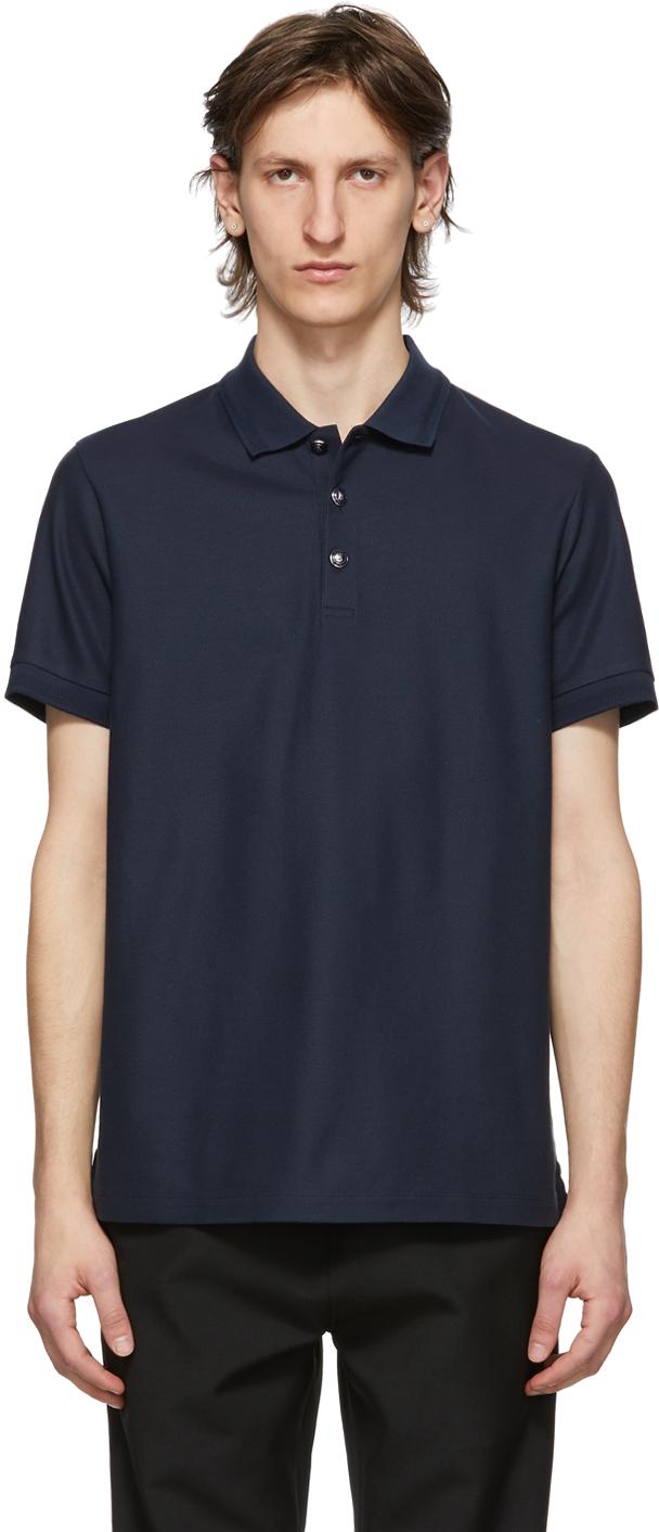 Burberry 海军蓝 Goldman Polo 衫