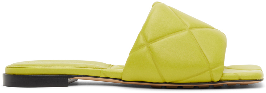 Bottega Veneta 绿色 Lido 凉鞋
