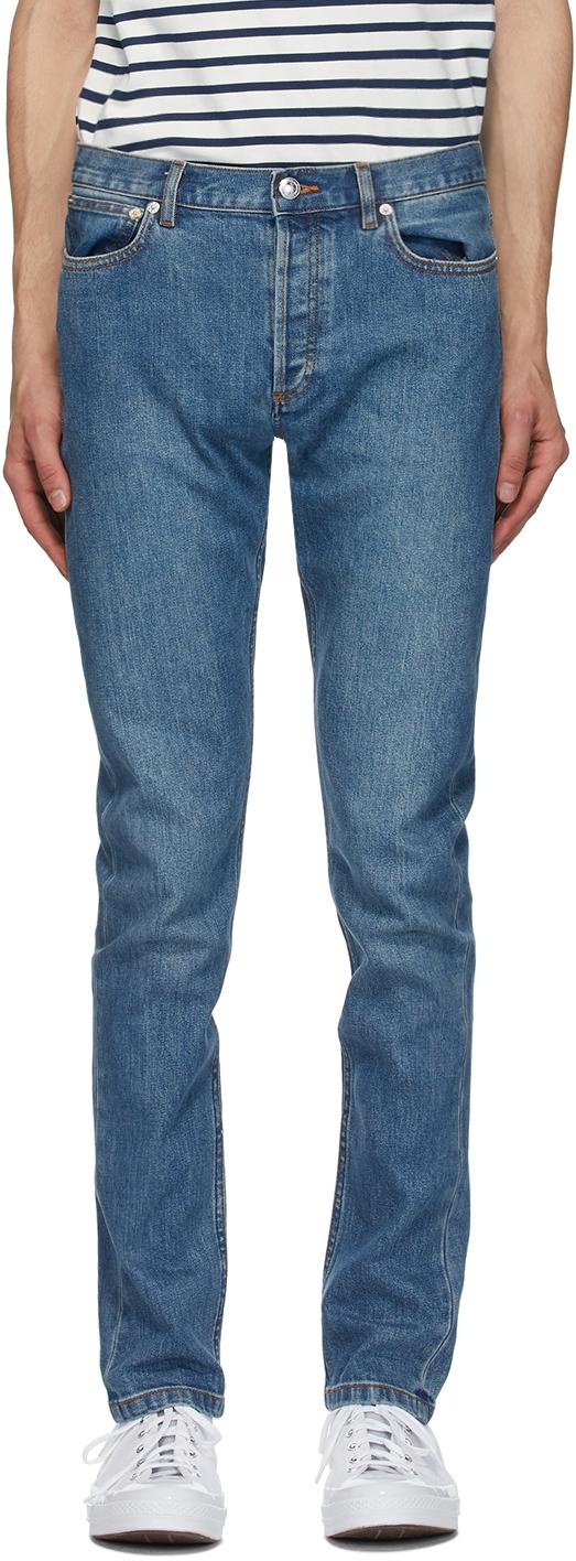 A.P.C. 蓝色 Petit New Standard 牛仔裤