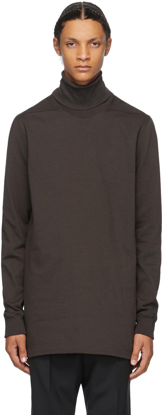 Rick Owens 棕色 Surf 高领衫