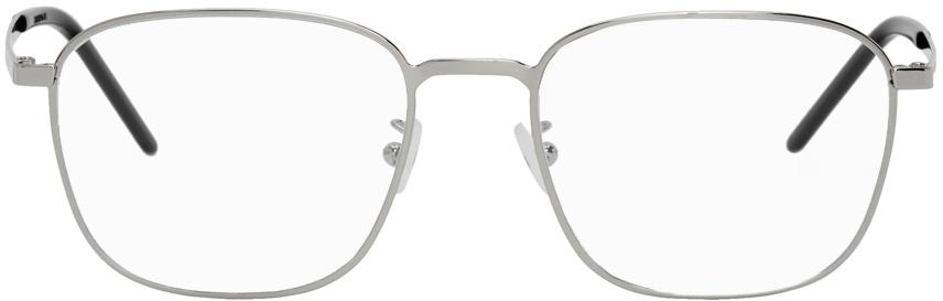 Saint Laurent 银色 SL 352 Slim 眼镜