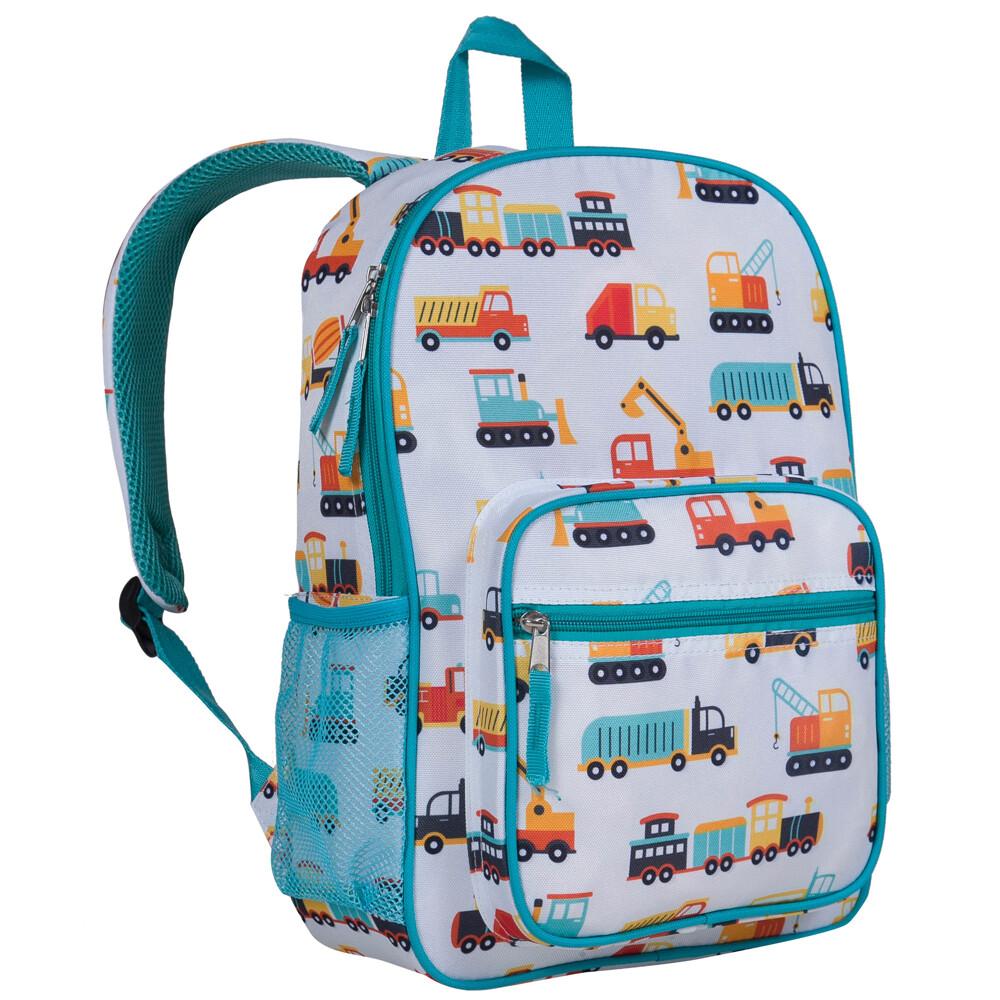 美國 wildkin 601510 工程機具 幼稚園書包/學齡前每日後背包(3歲以上)