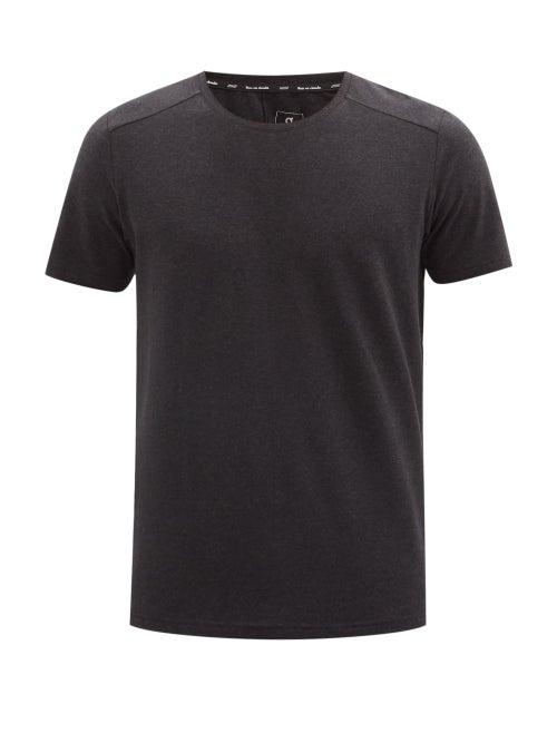 On - On Cotton-blend Jersey T-shirt - Mens - Black