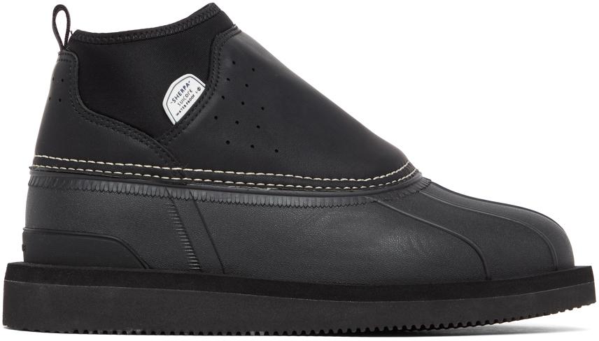 Suicoke 黑色 BEE-Wpab 踝靴