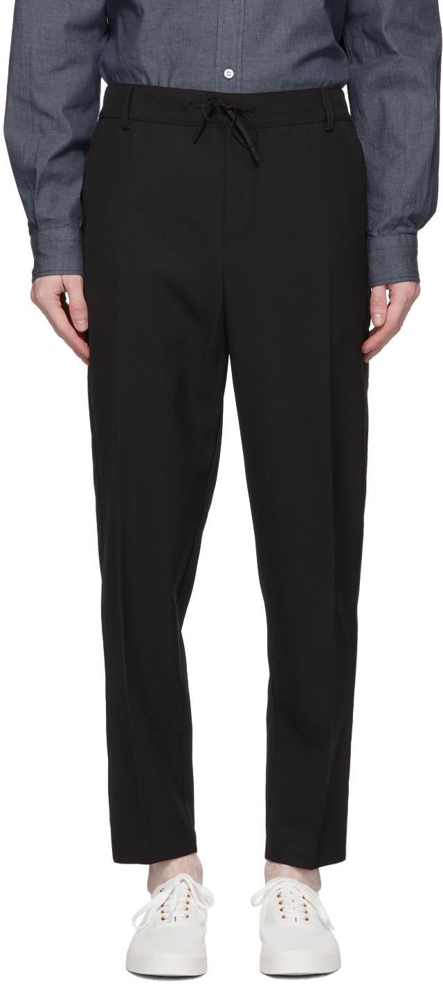 Maison Kitsuné 黑色 City 长裤