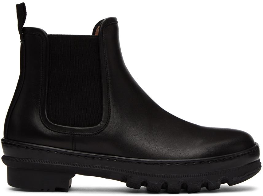 Legres 黑色 Garden 切尔西靴