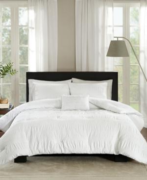 Madison Park Nicolette Cotton 4-Pc. King/California King Duvet Cover Set Bedding