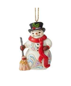 Jim Shore Snowman with Long Scarf Ornament