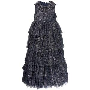 Sonia Rykiel Black Glitter Tulle Dress 6 years