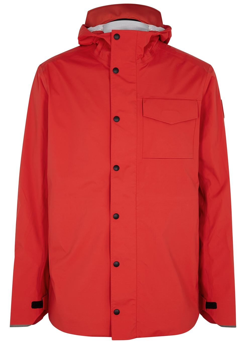 Nanaimo red Tri-Durance shell jacket