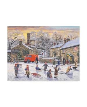 "Trevor Mitchell Christmas Holidays Canvas Art - 15.5"" x 21"""