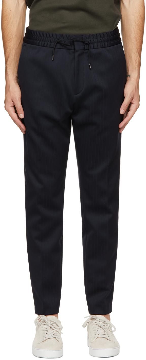HUGO 海军蓝 Howard212J 长裤