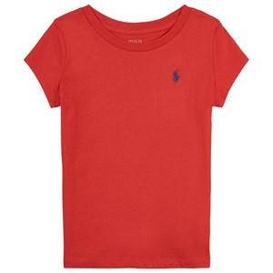 Ralph Lauren Ralph Lauren Bright Hibiscus Polo Player Logo T-Shirt 4 years