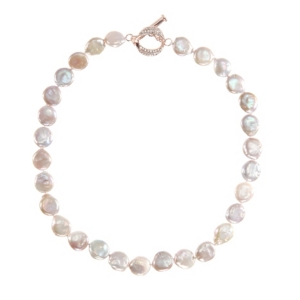 Nina Coin Freshwater Pearl Necklace