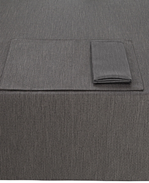 """Noritake Colorwave Graphite Collection 70"""" Round Tablecloth"""