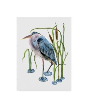 "Melissa Wang at the Pond I Canvas Art - 20"" x 25"""