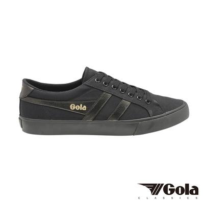 Gola Varsity 男帆布鞋-黑-GLCMA331BB