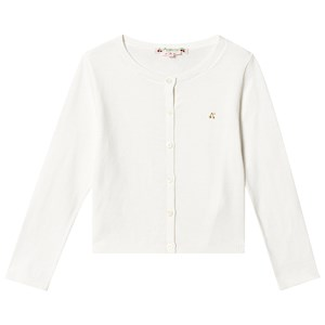 Bonpoint Cream Knitted Cardigan 12 years