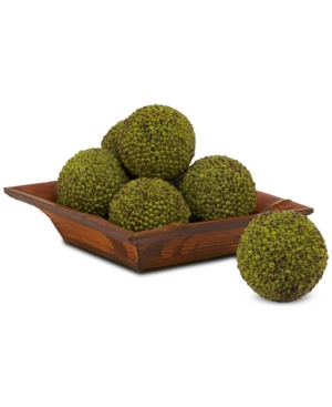"""Nearly Natural 4"""" Artificial Berry Balls, Set of 6"""