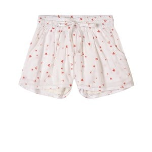 How To Kiss A Frog White Heart Print Kylie Shorts 12 Years