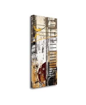"Tangletown Fine Art Chords by Noah Fine Art Giclee Print on Gallery Wrap Canvas, 17"" x 34"""