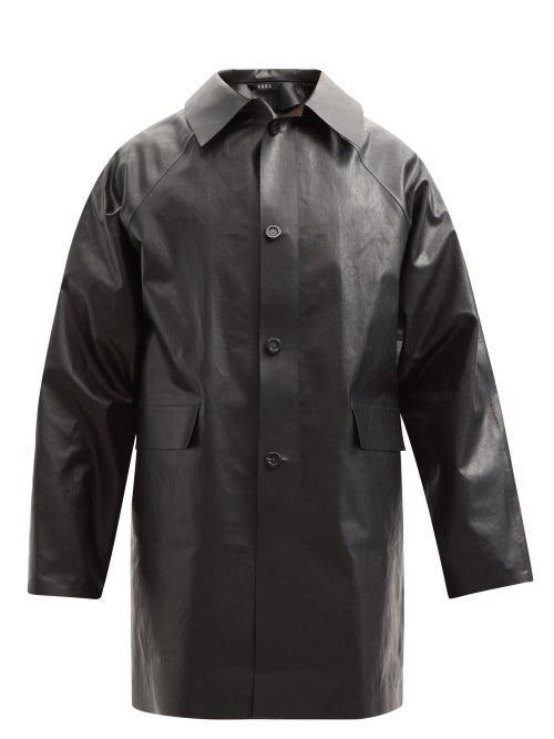 Kassl Editions - Original Oil Cotton-blend Coat - Mens - Black