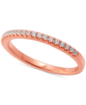 Diamond Band (1/5 ct. t.w.) in 14k Rose Gold