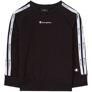 Champion Black Taped Logo Sweatshirt 9-10 years