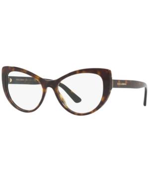 Dolce & Gabbana DG3285 Women's Cat Eye Eyeglasses