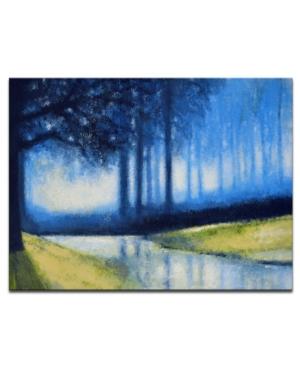 "Ready2HangArt, 'Creek' Canvas Wall Art, 20x30"""