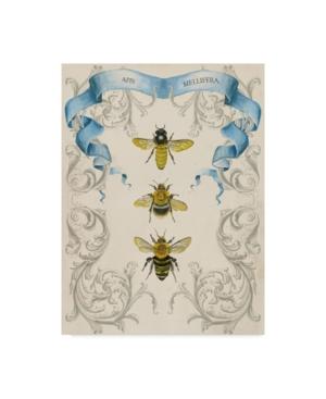 "Naomi Mccavitt Bees and Filigree Ii Canvas Art - 15"" x 20"""