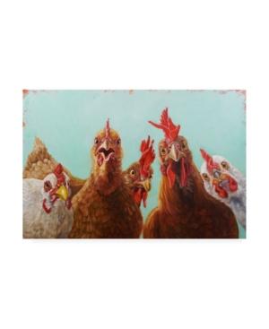 "Lucia Hefferna Chicken for Dinner Canvas Art - 15.5"" x 21"""