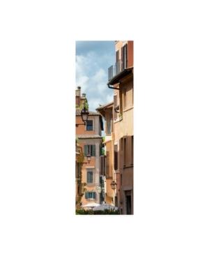 "Philippe Hugonnard Dolce Vita Rome 2 Buildings Facade Canvas Art - 19.5"" x 26"""
