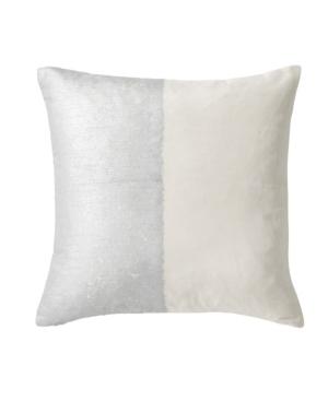 Michael Aram Metallic Texture Decorative Pillow Bedding