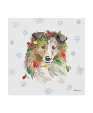 "Beth Grove Holiday Paws Ix Canvas Art - 20"" x 25"""