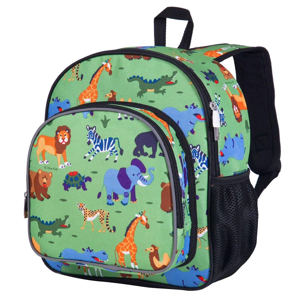 美國 wildkin 幼兒背包/幼稚園/寶寶書包  40080 野生動物園(2-6y)