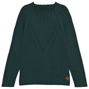 eBBe Kids Dark green Vivo Funnel Knit Sweater 104 cm (3-4 Years)