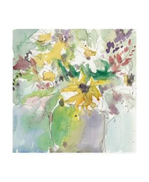 "Samuel Dixon Ua Ch Daisy Vase Ii Canvas Art - 15"" x 20"""