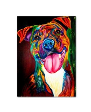 "DawgArt 'Smile Time' Canvas Art - 18"" x 24"" x 2"""