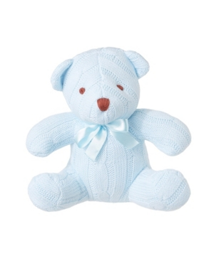 3 Stories Trading Cable Knit Snuggle Bear