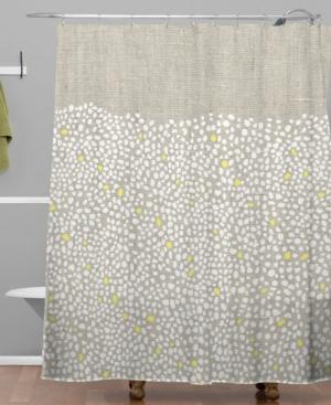 Deny Designs Iveta Abolina Pebbles Shower Curtain Bedding