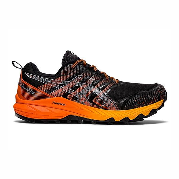 Asics Gel-fujitrabuco 9 G-tx [1011B027-002] 男鞋 慢跑 運動 緩衝 黑 橘