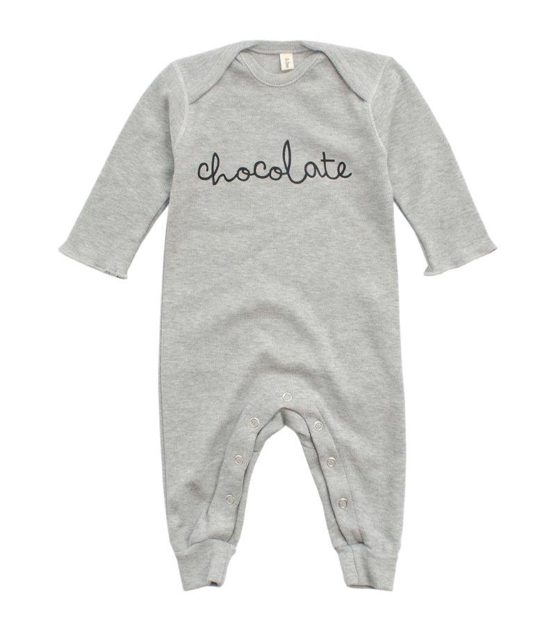 Organic Zoo Chocolate Playsuit (0-12 Months)