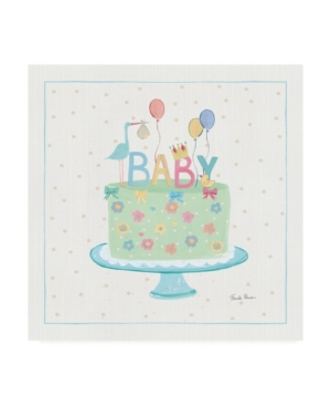 """Farida Zaman Happy Baby Iv Canvas Art - 15.5"""" x 21"""""""