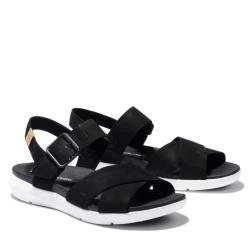 Timberland 女款黑色休閒涼鞋A27T6015
