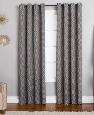 "Miller Curtains Morrisot 50"" x 63"" Geometric Window Panel"