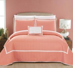 Chic Home Mesa 8 Piece Queen Quilt Set Bedding