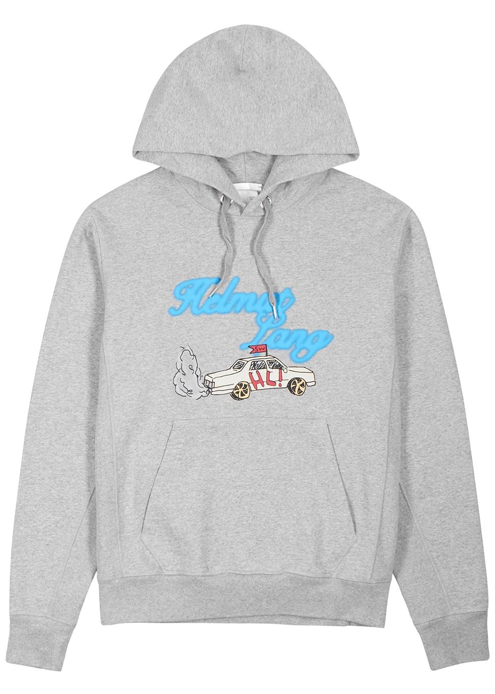 X Saintwoods Taxi grey cotton sweatshirt