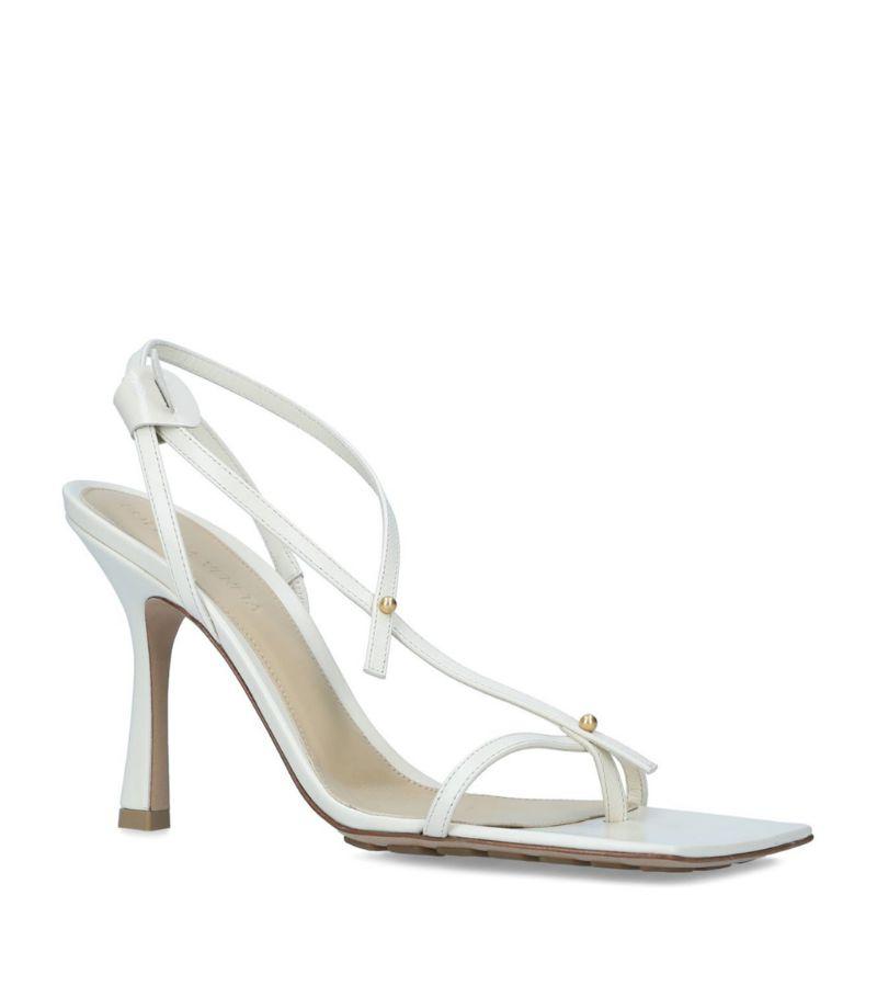Bottega Veneta Leather Stretch Sandals 90
